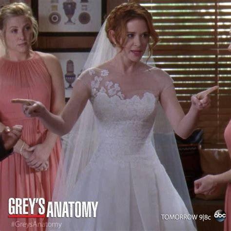 April kepner wedding dress   Luxury Brides