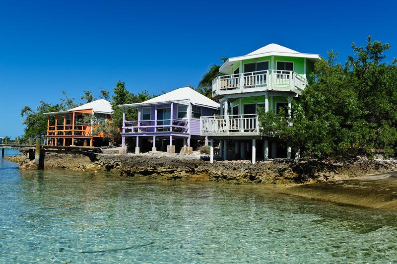 Staniel Cay Yacht club, Exumas, Bahamas