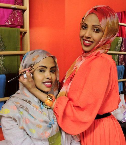 Somali women.