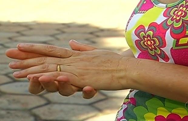 Mulher denuncia que foi estuprada durante 18 anos por padrasto em Nova Aurora, Goiás (Foto: Reprodução/TV Anhanguera)