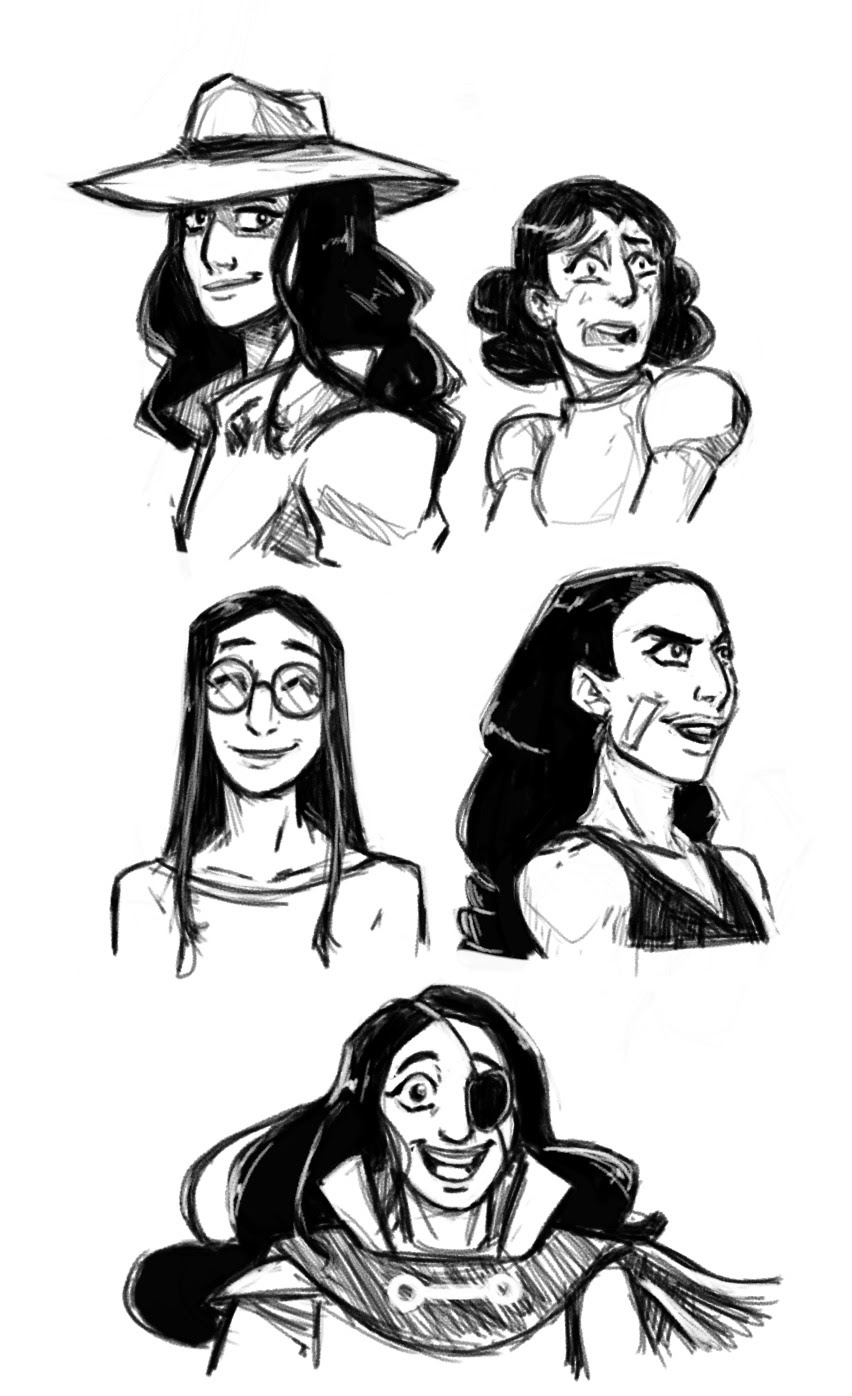 Why did no one tell me Connie was really fun to draw?! Connie is super cool! She has so many looks.