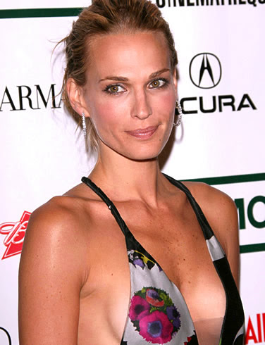 Celebrity Hairstyles Molly Sims