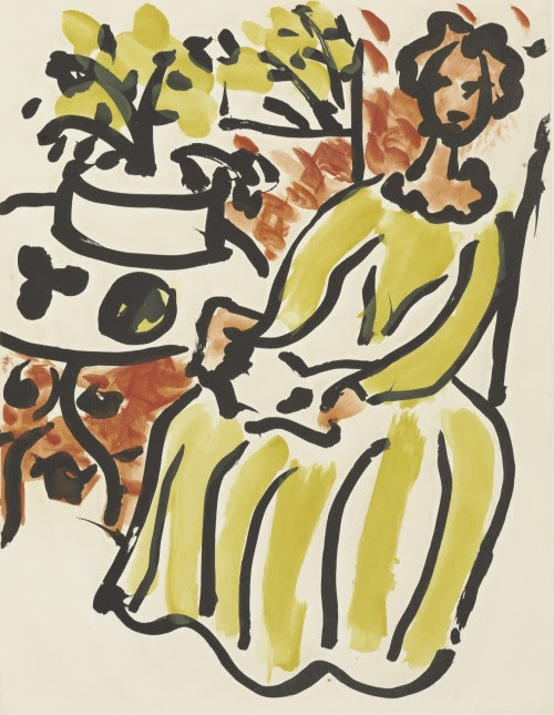 "christiesauctions:  ""Above all, I do not create a woman. I make a picture."" - Henri Matisse"