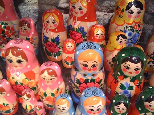 nesting doll shop
