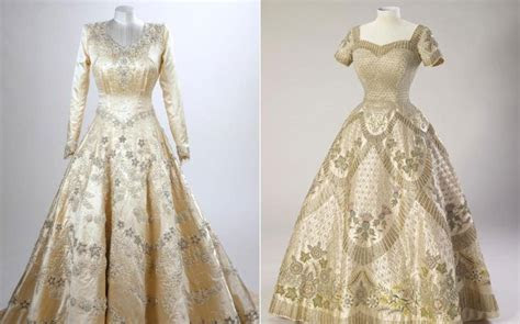 The Queen's wedding and coronation dresses to be displayed