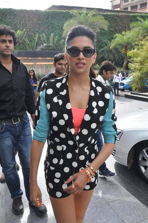Deepika Padukone in Mini-dress