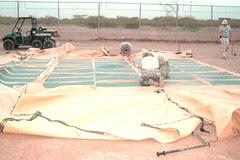 RDECOM solar panels, Djibouti, May 2011