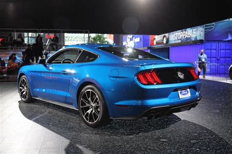 velocity blue color    ford mustang