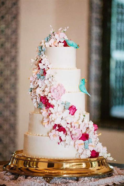 25 Floral Wedding Cake Ideas #19511   Wedding Ideas