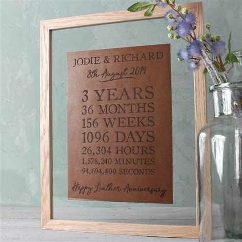 10 Great 3Rd Year Anniversary Gift Ideas
