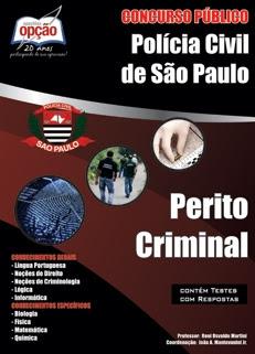 Polícia Civil de SP-PERITO CRIMINAL