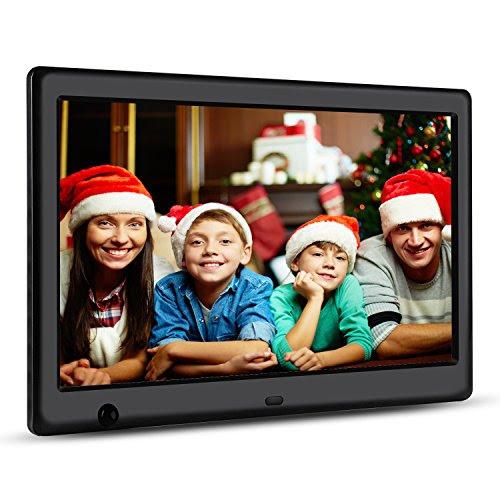 Apzka 10 Inch Hd Digital Photo Frame With Motion Sensor Auto
