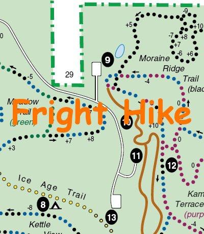 Lapham Peak Fright Hike 2005 - soul-amp.com