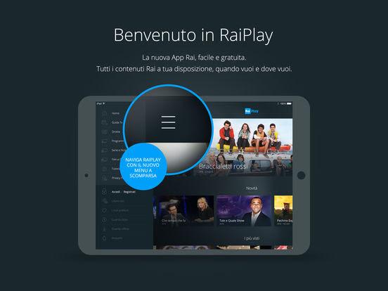 RaiPlay - Segui la diretta streaming e rivedi tutti i programmi vers 3.1.3