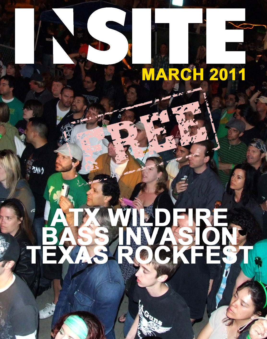 March 2011 - cover: free