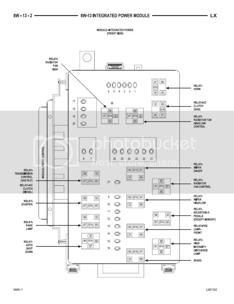 2006 Chrysler 300 Fuse Box Diagram Footswitch Wiring Diagram For Jlg Goldwings Lanjut Warmi Fr