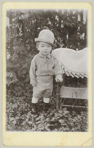 Small boy RPPC