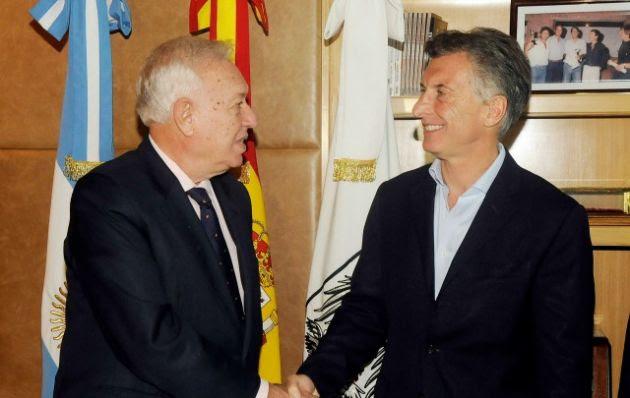"""El canciller español prometió relaciones """"espectaculares"""""""
