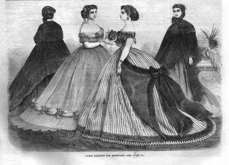 Fashion 1866 february