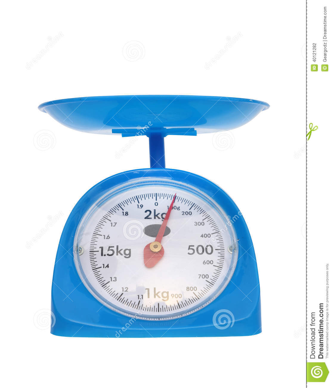 weight measurement balance isolated white background gram 40121282