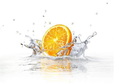 Wallpaper Orange fruit, Splash, 5K, Photography, #3496