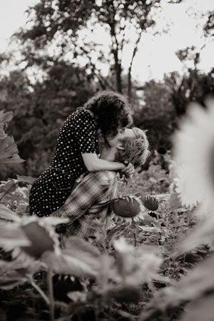 Sixties Engagement Shoot
