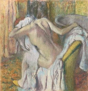 Degas - backs in art