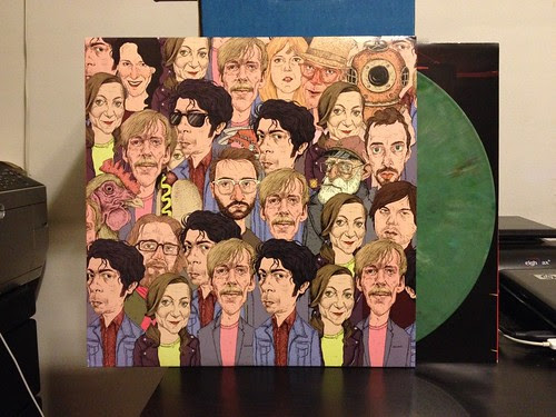 The Wrong Words - Everything Is Free LP - Green Vinyl (/500) by Tim PopKid