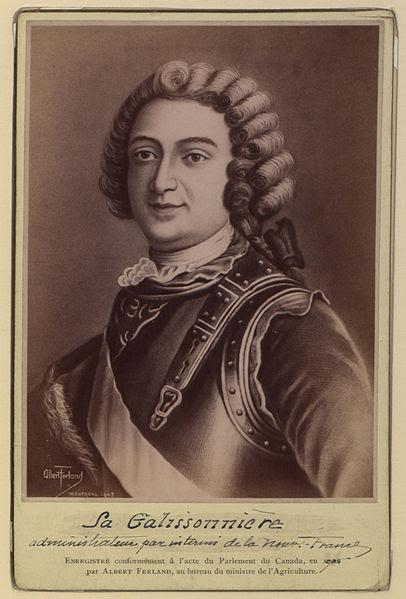 Archivo:. La Galissonnière Administrateur par interino de la Nouvelle France (HS85-10-16602) jpg