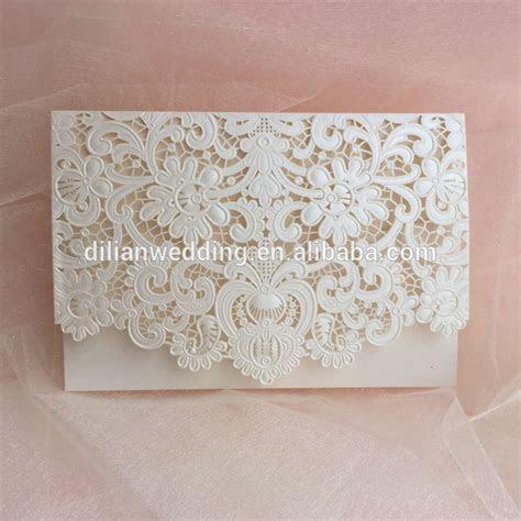 Handmade and luxurious vintage wedding invitation, View