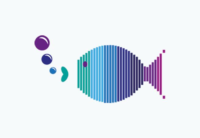Iconos De Animales Con Figuras Geométricas Diseño Gráfico