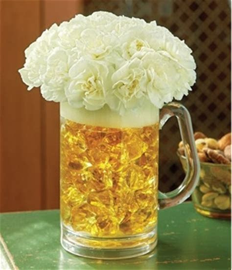 Beer Mug Centerpiece Ideas ? A Wedding Blog