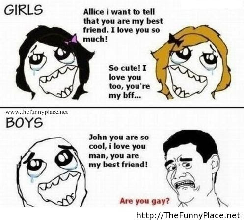 Girls Vs Boys Funny Quotes Thefunnyplace