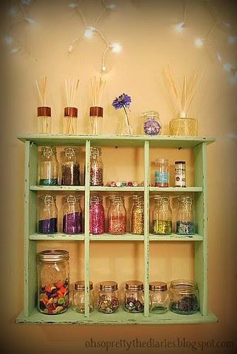 Glitter Storage