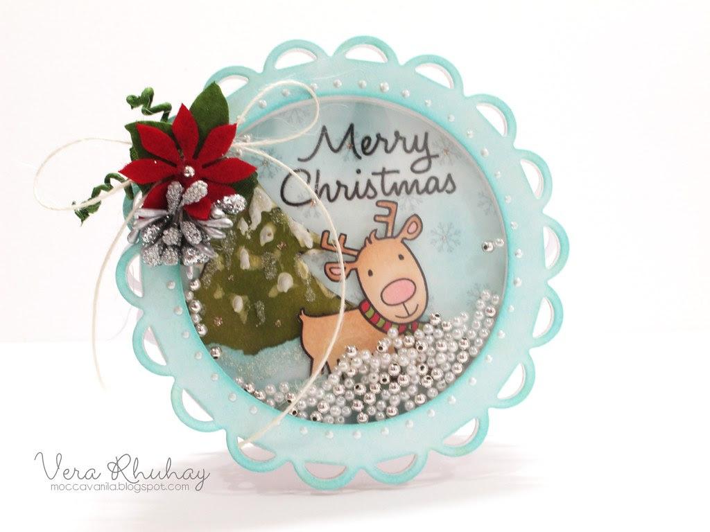 Christmas Shaker Card 02