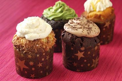 Kyotofu cupcakes