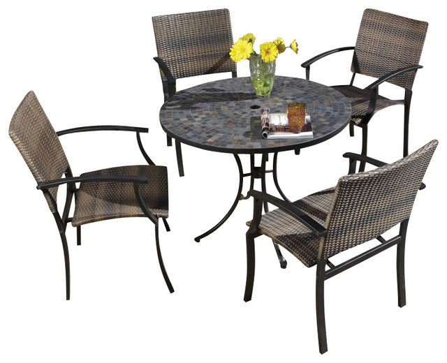 Home Styles Stone Harbor Dining Table Dining Tables: Find Round ...