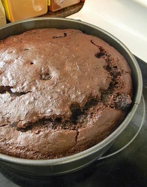 Blackberry Ricotta Cocoa Cake