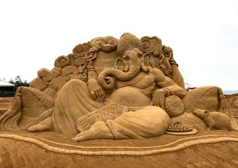 As extraordinárias esculturas de areia de Toshihiko Hosaka 10