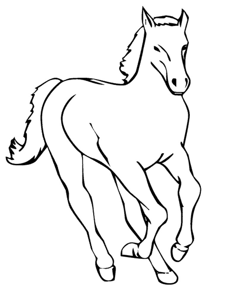 Printable Horse Head - ClipArt Best