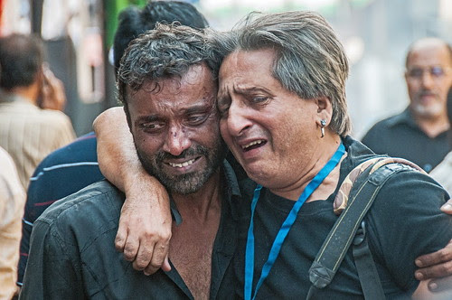 Crying For Hussain   Shot by Dr Glenn Losack Ashura Mumbai 2011 by firoze shakir photographerno1