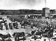 Forças alemãs que combateram os hereros em 1904