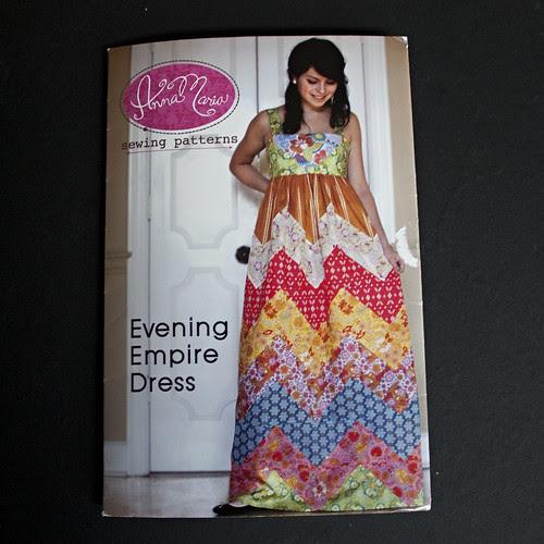 AMH Evening Empire Dress pattern