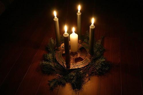 My Celtic Advent wreath by Stevie Steve Steven