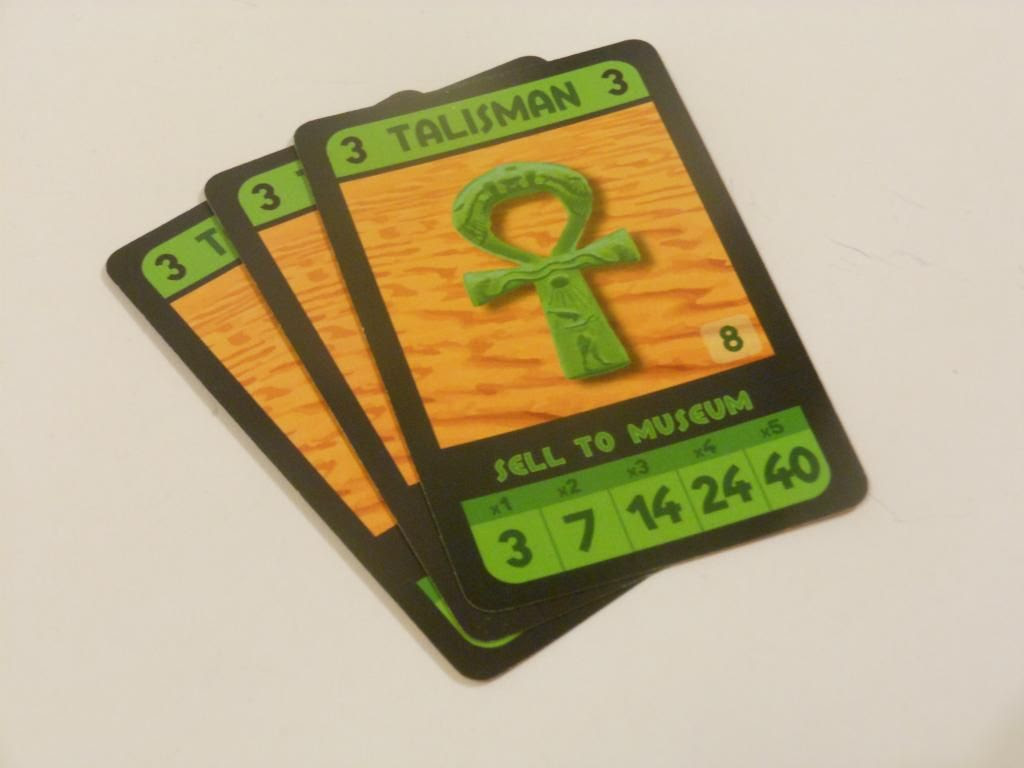 Archaeology: The Card Game - talisman cards