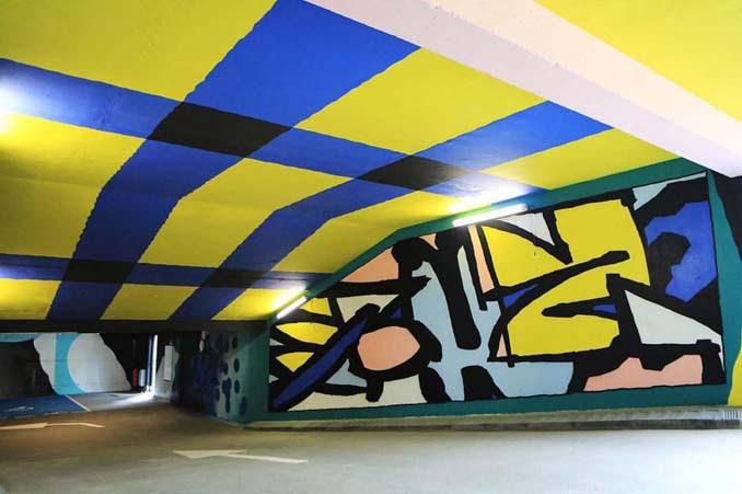 Parking αυτοκινήτων μετατράπηκε σε μουσείο Street Art (10)