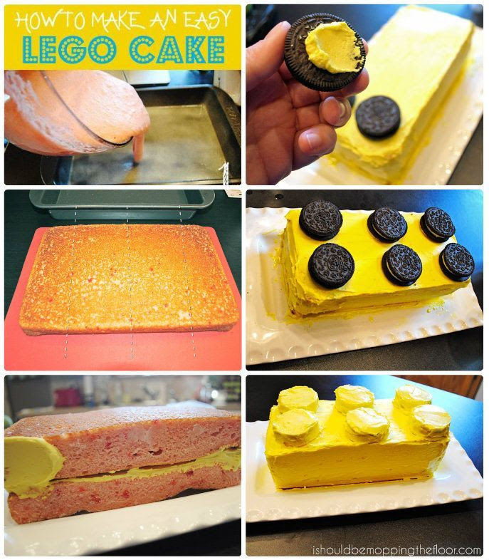 How To Make A Lego Ninjago Cake Meaningfulmama Com