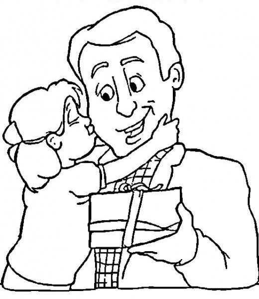 Babalar Günü Ile Ilgili Boyama Sayfaları Okul öncesi Etkinlik