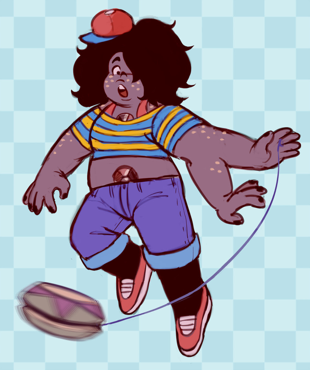 oh hey its ness from earthbound