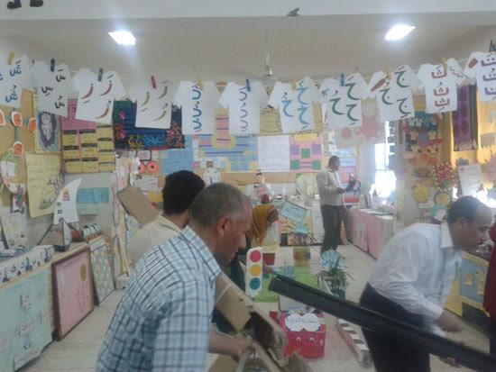 المعرض السنوى لوحدة القرائية بإدارة أبنوب التعليمية (1)